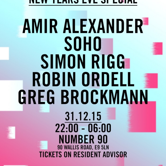 Half Baked & Phonica Records NYE – 31.12.15